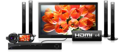 UE46C9000 - HDMI x4
