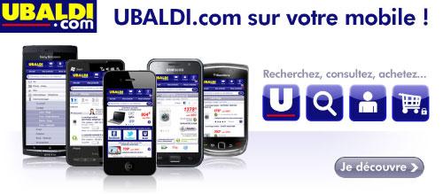 Site mobile Ubaldi.com