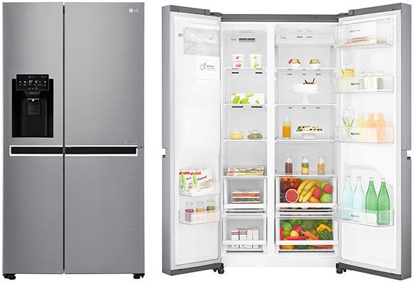 acheter un frigo am ricain vente r frig rateur 4 portes pas cher. Black Bedroom Furniture Sets. Home Design Ideas
