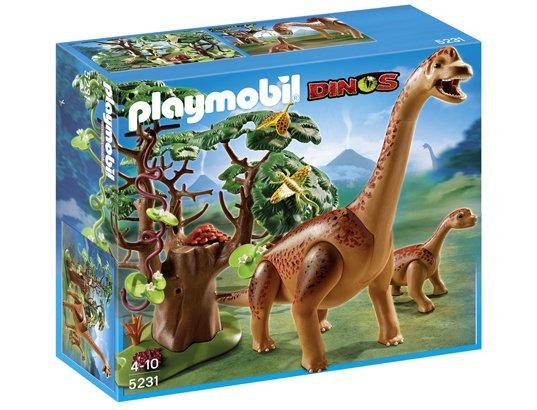 PLAYMOBIL 5231 - Brachiosaure et son petit