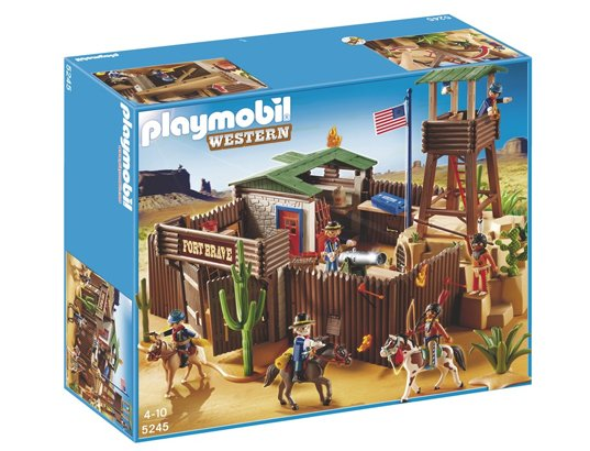Playmobil 5245 - Grand fort des soldats américains