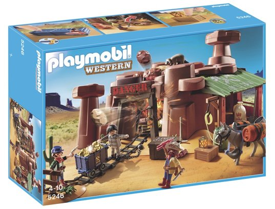 Playmobil 5246 - Mine d'or avec explosif