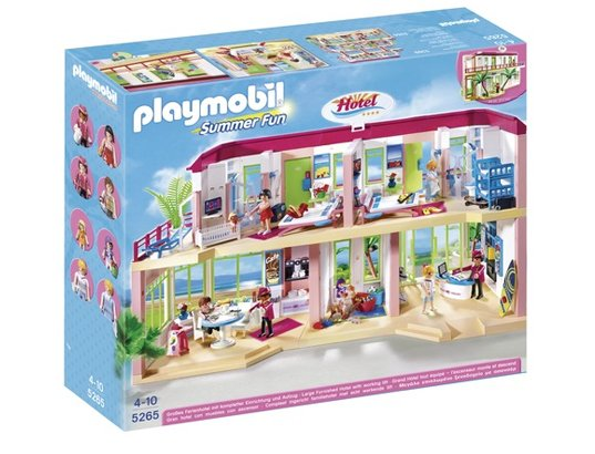 hotel playmobil 2013 playmobil summer fun pas cher. Black Bedroom Furniture Sets. Home Design Ideas