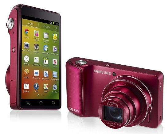 Sasmung Galaxy Camera Wi-Fi rouge