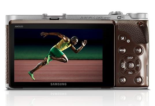 Usain Bolt et le NX300