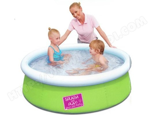 Piscine enfant BESTWAY My first fast set pool 153x38 vert