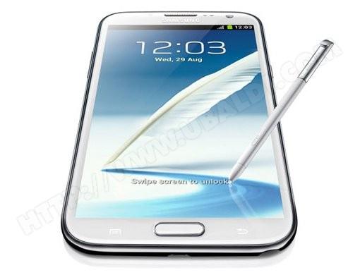 Smartphone SAMSUNG Galaxy Note II - GT-N7100 blanc 16 Go
