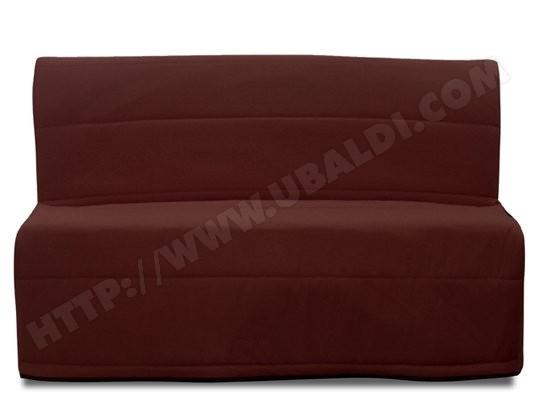 Canapé lit UB DESIGN Vanda 140 chocolat