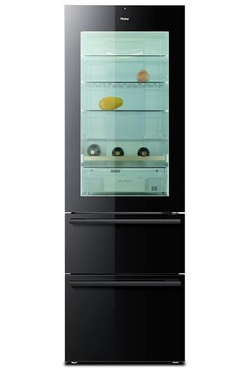 Réfrigérateur américain transparent