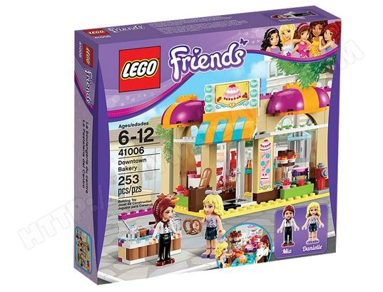 Jeu de construction LEGO Friends 41006 - La Boulangerie d'Heartlake City