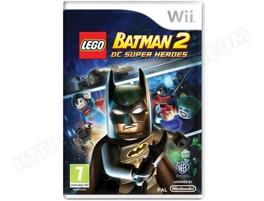 Jeu Wii WARNER LEGO Batman 2 : DC Super Heroes Wii