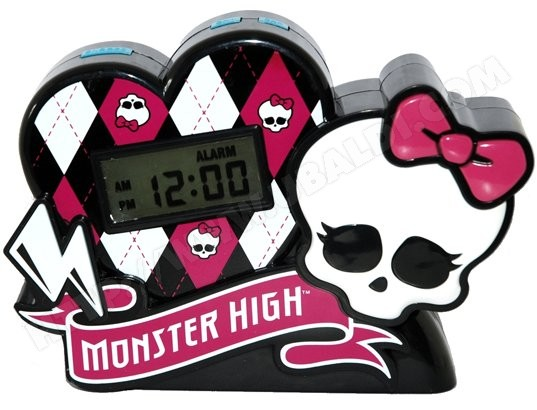 Radio réveil enfant TECHTRAINING Monster High - 50148