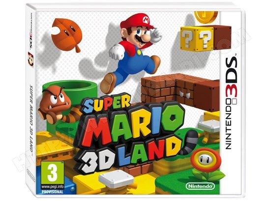 Jeu 3DS NINTENDO Super Mario Land 3D 3DS