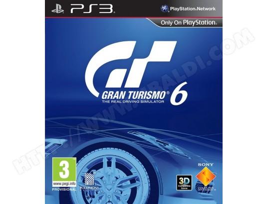 Le jeu Gran Turismo 6 à prix fou