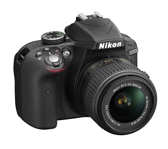 Voici le Nikon D3300 + 18-55mm VR II