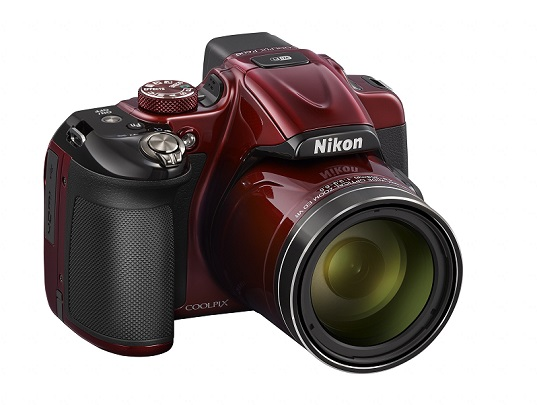 Nikon P600 rouge
