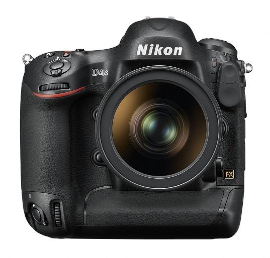 Le Nikon D4S - Vue de face