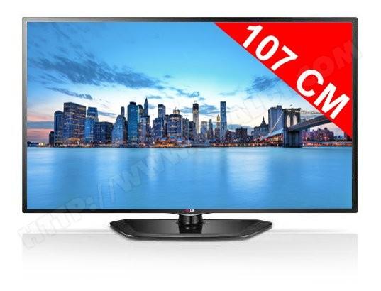 Téléviseur LED 107 cm Full HD LG 42LN5400