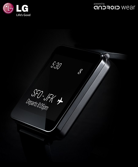 La LG G Watch