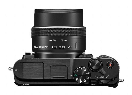 Vue de dessus du Nikon 1 V3