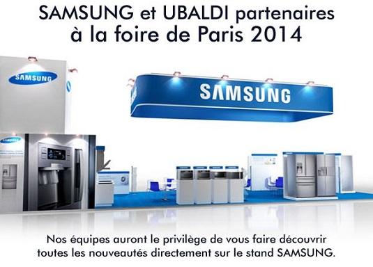 Ubaldi à la Foire de Paris 2014
