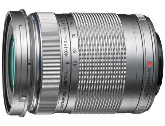 Objectif Hybride OLYMPUS Zuiko ED 40-150MM R 1:4.0-5.6 silver