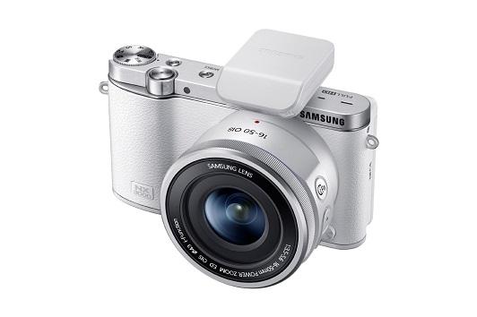 Le nouveau Samsung NX300 blanc
