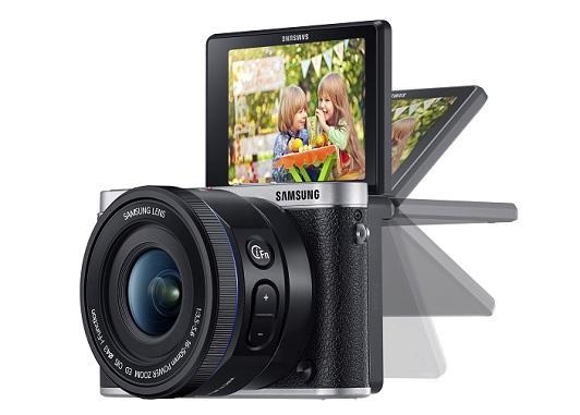 Le nouveau Samsung NX300 noir