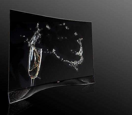 Découvrez le TV OLED par LG et Swarovski