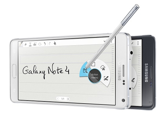 Fonction Note du Galaxy Note 4