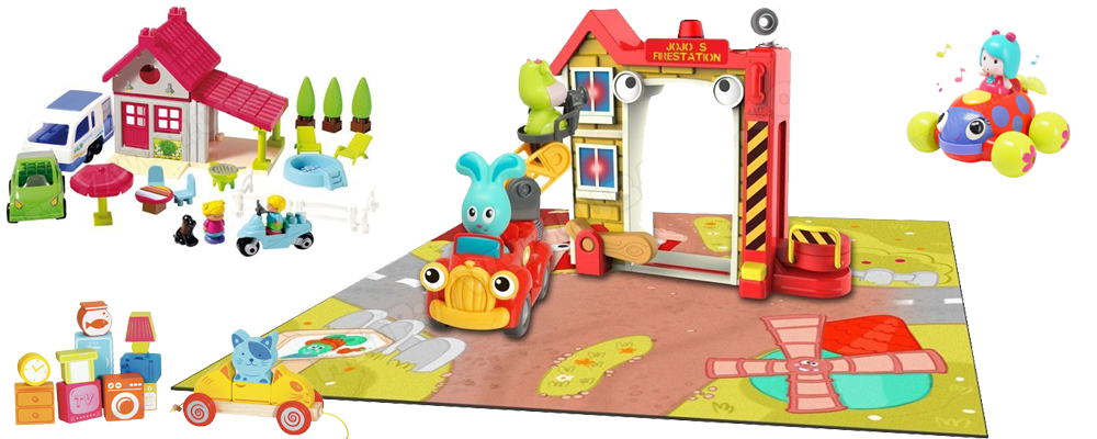 Eveils - jeux - jouets