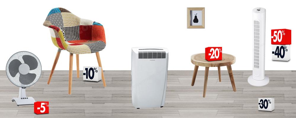 ventilateurs et climatiseurs pour un été agréable