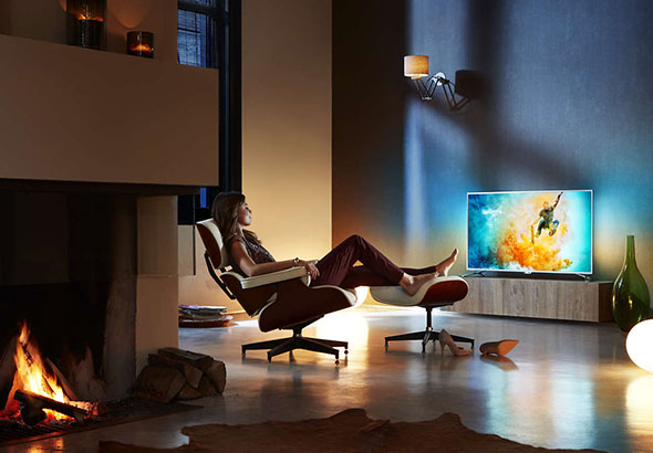 Ambiance TV Ambilight Philips