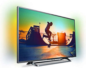 TV led Philips Ambilight 4K