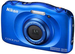 Appareil photo coolpix bleu w100