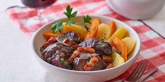 boeuf bourguignon recette cooking chef