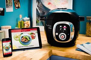 robot cookeo connect dans cuisine