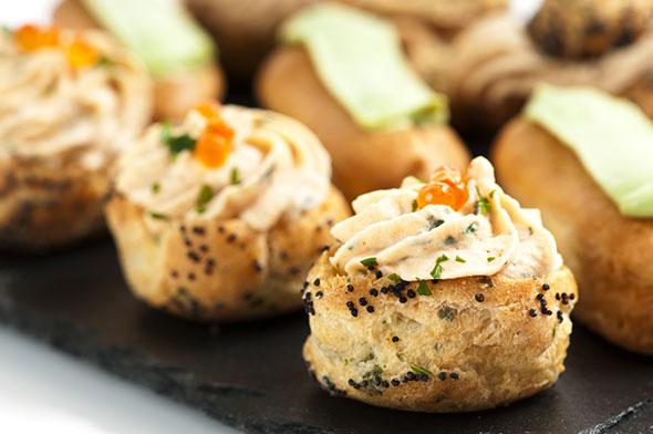 cooking chef choux au foie gras