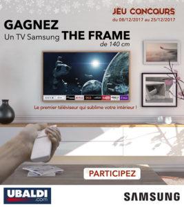 tv the frame samsung à gagner
