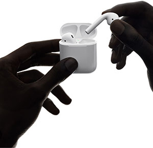 Airpods Apple oreillettes bluetooth