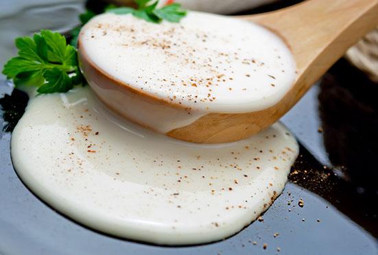 cooking chef recette bechamel