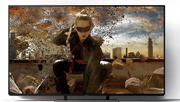 TV panasonic oled 4k 139 cm