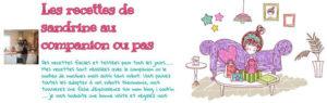 Blog culinaire de Sandrine sur le companion