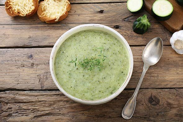 Recette Soupe verte au cookeo
