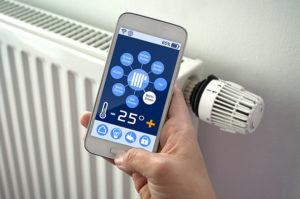 chauffage connecté thermostat intelligent