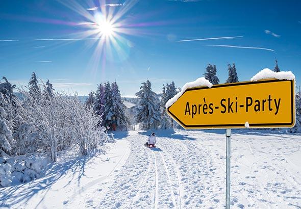 soirée au ski : musique, fondue et raclette