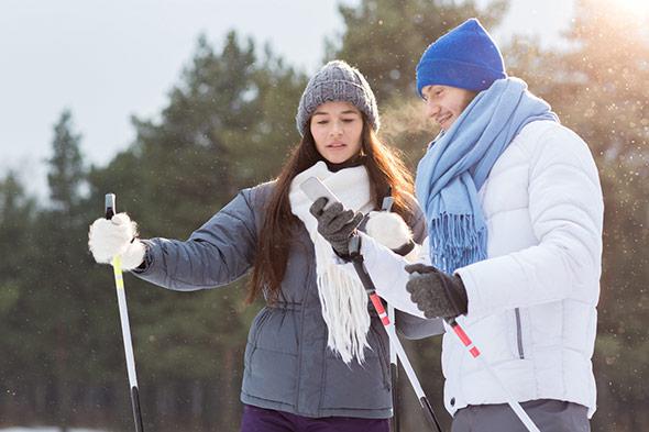 montre GPS pour le ski