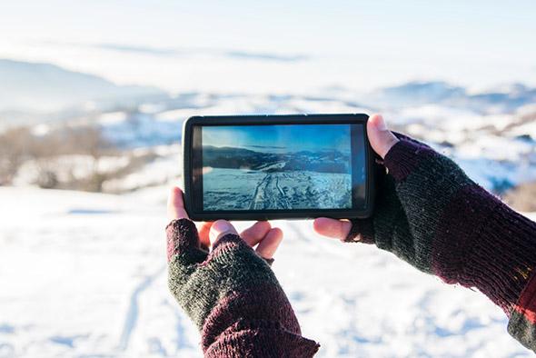 Applications Smartphone pour le ski