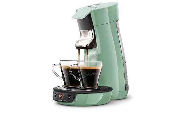Machine à café Senseo couleur vert d'eau