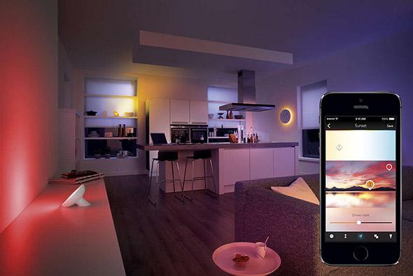piloter lumière maison avec philips hue